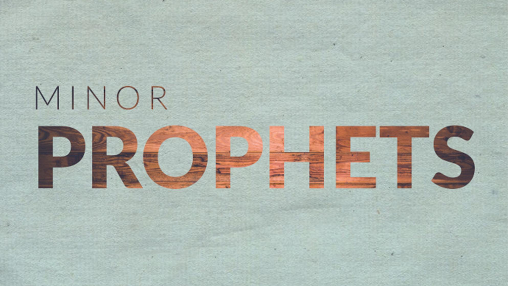 The Gospel in the Minor Prophets